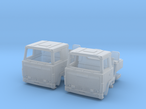 2 spare cabs for Scania 140 in N scale in Smoothest Fine Detail Plastic