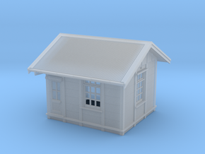 HO Gilmore Signal Box - Complete in Smooth Fine Detail Plastic