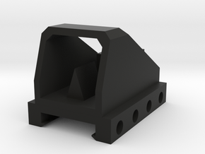 Mini Dot Sight for Rival Rail in Black Natural Versatile Plastic