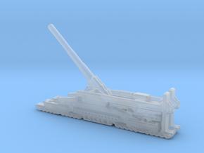 Schwerer Gustav railway artillery 80cm aa 3cm  in Smooth Fine Detail Plastic
