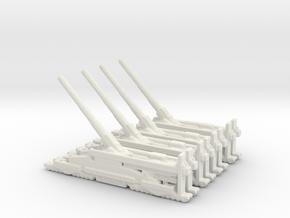 Schwerer Gustav railway artillery 80cm aa 5cm x4 in White Natural Versatile Plastic