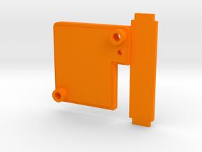 Runcam Swift 2 RR Back Plate For Martian II in Orange Processed Versatile Plastic