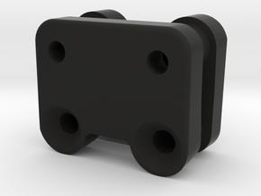 XB2 Front Wing Mount 4 Degree Rake Angle x 2 in Black Natural Versatile Plastic