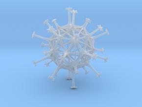 Exospore in Smooth Fine Detail Plastic