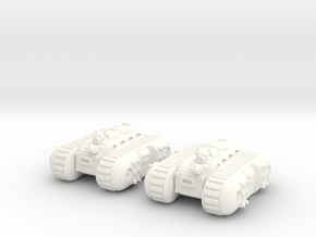 6mm - Pigmen APC x 2 in White Processed Versatile Plastic