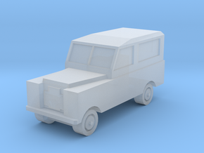 1/450 Land Rover Series 2a SWB, for T gauge in Smooth Fine Detail Plastic