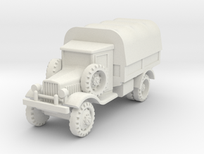 Marmon-Herrington 2-axles 1:72 in White Natural Versatile Plastic
