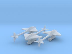 (1:144)(x3) Lippisch Gleiter Bombenflugzeuge in Smooth Fine Detail Plastic