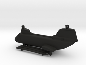 Boeing Vertol CH-46 Sea Knight in Black Natural Versatile Plastic: 1:200