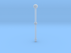 1/20 Scale 2 Hole Stanchion in Smooth Fine Detail Plastic
