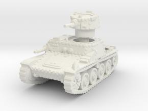 Praga R1 Tank 1/100 in White Natural Versatile Plastic