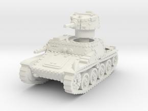 Praga R1 Tank 1/87 in White Natural Versatile Plastic