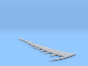 1:6 Miniature Renji Zabimaru Sword - Bleach in Smooth Fine Detail Plastic