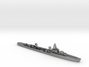 French cruiser Émile Bertin c1942 WW2 1:1800 in Natural Silver