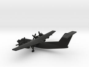de Havilland Canada DHC-7 in Black Natural Versatile Plastic: 1:400