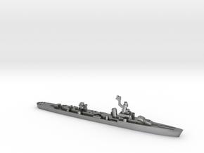French cruiser Émile Bertin c1943 WW2 1:2400 in Natural Silver
