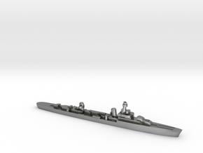 French cruiser Émile Bertin c1942 WW2 1:3000 in Natural Silver