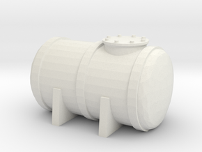 Petrol Tank 1/200 in White Natural Versatile Plastic
