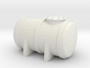 Petrol Tank 1/200 in White Natural Versatile Plastic