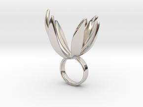 Lono - Bjou Designs in Rhodium Plated Brass