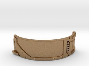 The Island ID Bracelet Top Replica Prop in Natural Brass