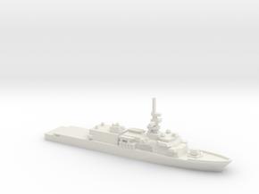 Heritage-class cutter, 1/2400 in White Natural Versatile Plastic