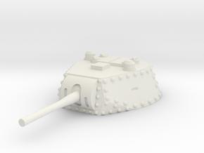 M13 40 Turret 1/76 in White Natural Versatile Plastic