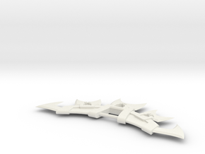 Miniature Prehistoric Renekton Skin - LOL - 15cm in White Natural Versatile Plastic