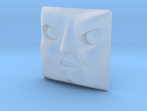 Cranky Face #1 [H0/00] in Smooth Fine Detail Plastic