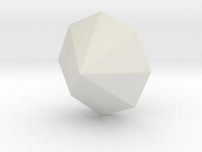 Simple Diamond Shaped model in White Natural Versatile Plastic