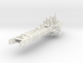 Imperial Legion Concept - Battlebarge  in White Natural Versatile Plastic