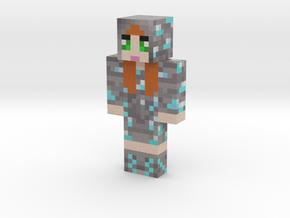 DiamondChopper | Minecraft toy in Natural Full Color Sandstone