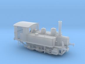 1/87th (H0) scale MAV 377 class steam locomotive in Smooth Fine Detail Plastic