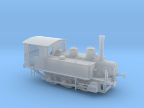 1/72nd scale MAV 377 class steam locomotive in Smooth Fine Detail Plastic