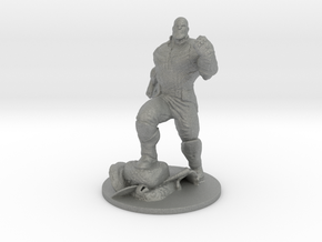 Thanos Infinity War 55mm figure miniature in Gray PA12