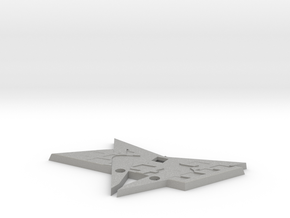 Cupra Grill Flag Swap - Back Part in Aluminum