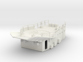1/96 HMS Garland Hedgehog Platform in White Natural Versatile Plastic
