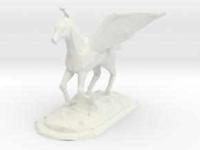 pegasus in White Natural Versatile Plastic