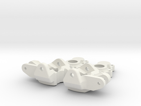 Portal Steering Boxes v2 in White Natural Versatile Plastic