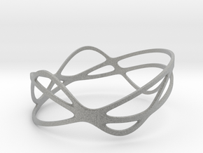 Harmonic Bracelet (67mm) in Metallic Plastic