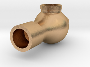 2in Steam Siphon in Natural Bronze