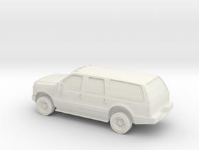 1/72 2010 Ford Excoursion in White Natural Versatile Plastic
