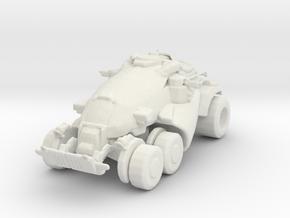 Gears of War Armadillo 1/60 miniature 4 games rpg in White Natural Versatile Plastic