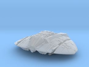 BSG Cylon Raider mk1 lander in Smoothest Fine Detail Plastic: 1:400