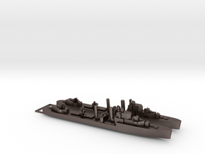 2pk with sprue Intrepid class 1:1200 WW2 destroyer in Polished Bronzed-Silver Steel