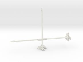 Honor Pad 5 10.1 tripod & stabilizer mount in White Natural Versatile Plastic