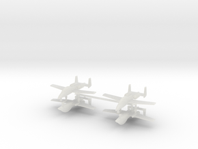 1/600 Two-Seater A-10 Thunderbolt II (Unarmed) (x4 in Smooth Fine Detail Plastic