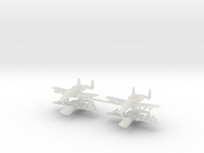 1/700 Two-Seater A-10 Thunderbolt II (Armed) (x4) in Smooth Fine Detail Plastic