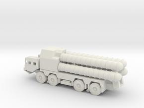 1/100 Scale MAZ-543 SA-300 Missile Launcher type b in White Natural Versatile Plastic