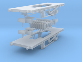 Adaptable 9' wb chassis in Smoothest Fine Detail Plastic